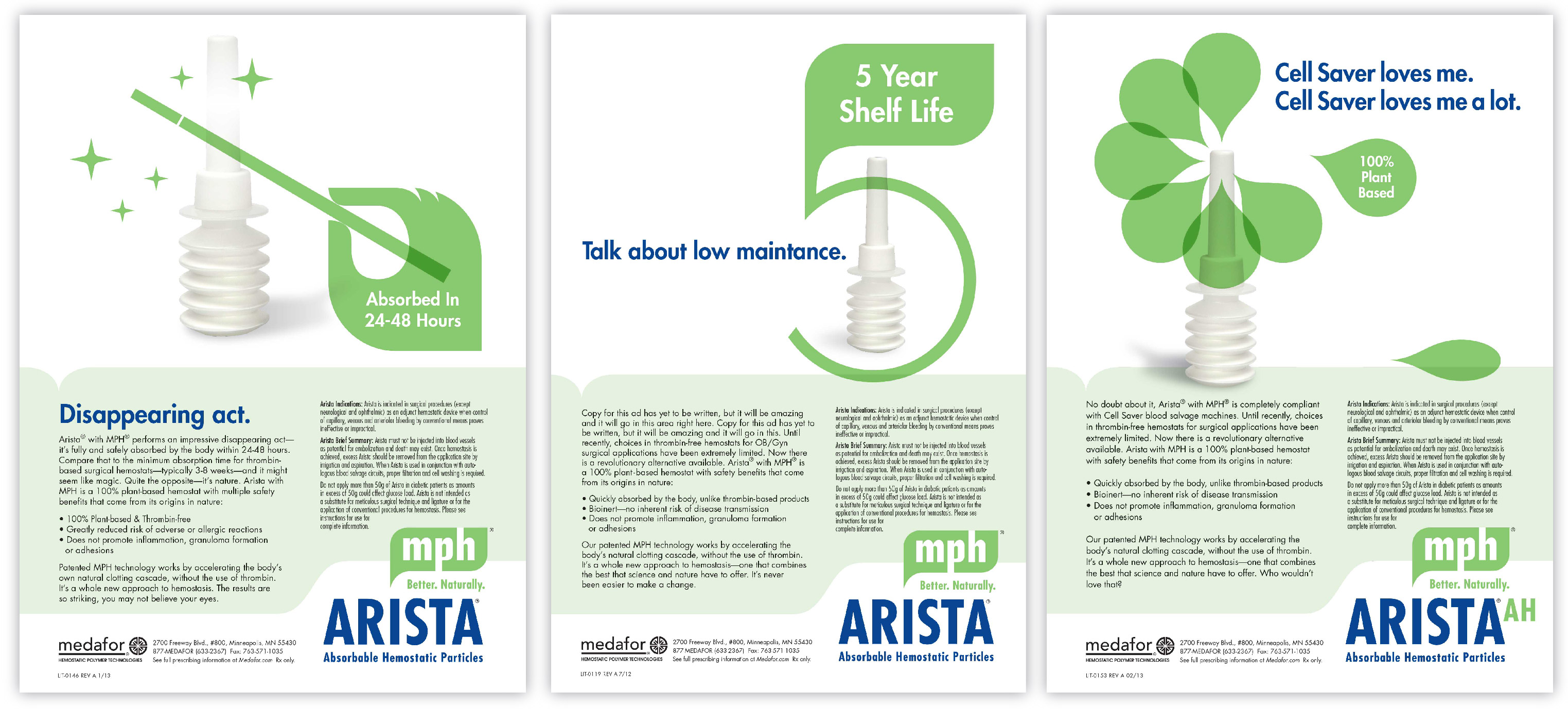 arista branding and ad campaign smarter trade journal advertising was developed to speak to specific segments communicate relevant benefits and reinforce brand identity